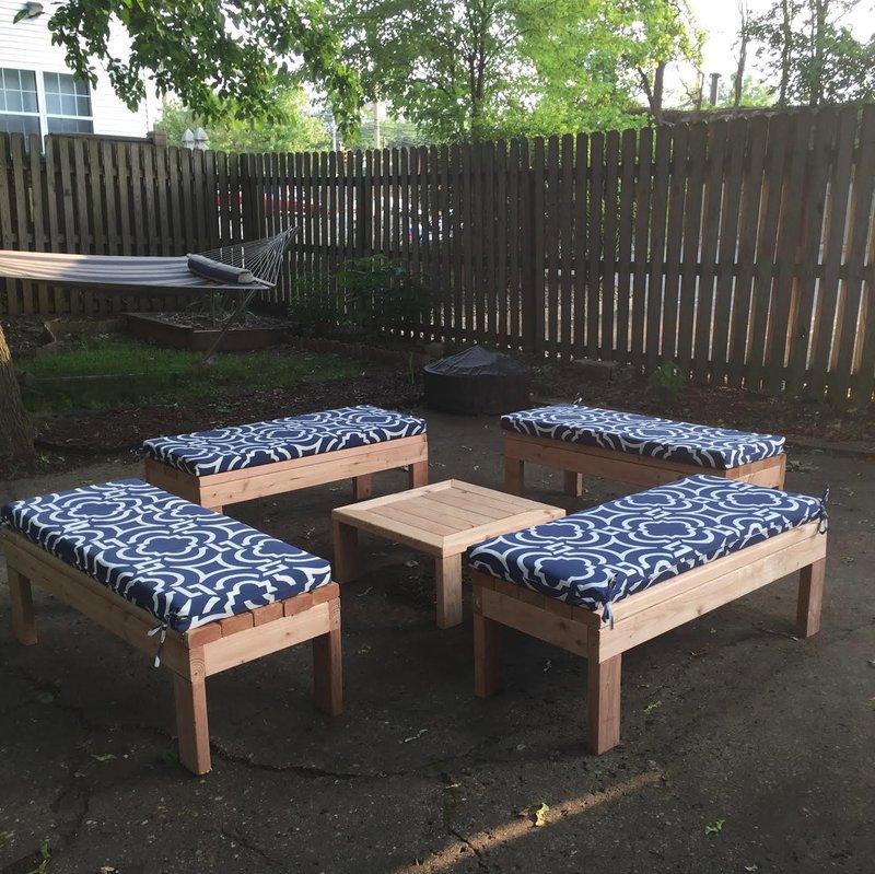 Jen's Outdoor Bench